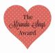 Image result for the miranda sings blogger award